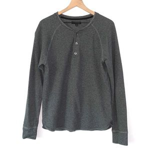 FREE WITH PURCHASE - Waffle Knit Baseball Henley